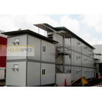 China Green Fireproofed Prefab Warehouse Buildings Expandable for Workshop on sale