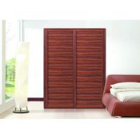 Best Custom Wooden Aluminium Frame Sliding Wardrobe Doors , Sliding Door Closet wholesale