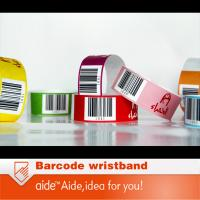Buy cheap Barcode tyvek wristbands from wholesalers