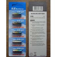China 12v 23A AlkalineBatteries, remote control battery on sale