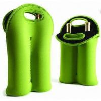 Hot-selling High quality Neoprene Wine holder Water bottle bag two-Bottle holder