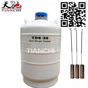 China 30 Liter liquid Nitrogen Dewar Flask 30L Tank Cryogenic Storage Container on sale
