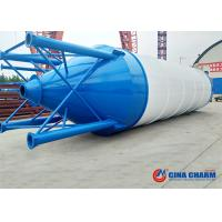 Best Easy Transportation Bulk Powder Storage Silo/50T Welded Cement Silo for sale 50t bolted cement silo wholesale