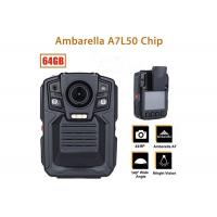 Best Remote Control Security Body Camera Ip67 Water Proof With 1296P IR LED Light wholesale