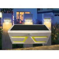 Best Durable Solar Powered Motion Sensor Lights Outdoor , Solar Exterior Wall Light Fixtures wholesale