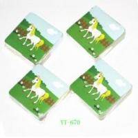 China Compressed Towel with Horse Design for Promotion (YT-670) on sale