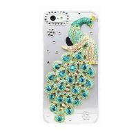 Best ARD001-G luxurious Bling Peacock Rhinesone phone cover for iPhone 5/5S/5C wholesale