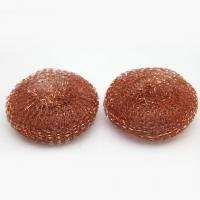 China 99.99% Pure Copper Wool Pad / Household H65 Copper Scrubber Pads on sale