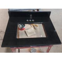Best Black Granite Mozambique Bathroom Countertops And Sinks  22 With Rectangle Cutout wholesale