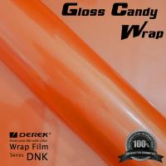 Best Gloss Candy Focus Orange Vinyl Wrap Film - Gloss Focus Orange wholesale