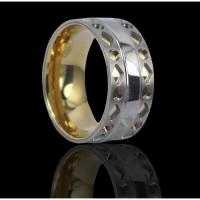 China Carving Titanium rings on sale