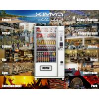 Best Outdoor Combo Vending Machine coin operated for drink and snack food , G654 wholesale