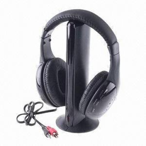 Best 5-in-1 Hifi Wireless Headphones for MP4/PC/TV Audio, Wireless Monitor FM Radio wholesale