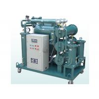 China Transformer Oil Regeneration System , Waste Oil Recycling Equipment As Dehydration Plant on sale