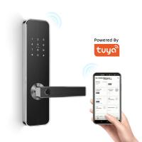 China Intelligent Bluetooth Door Lock Tuya App System Controls For Home Use on sale