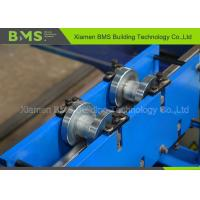 China Shelf Step Beam Racking Roll Forming Machine With Saw Cutting Use For Storage on sale