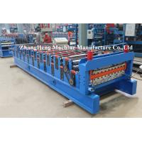 Best IBR Corrugated Roof Sheeting / Panel Tile Roll Forming Machinery SGS certification wholesale