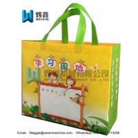 Best School bag 100% new raw material whole bag printing heat sealed ultrasonic machine made pp non woven bags wholesale