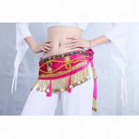 China Belly Dance Hip Scarf on sale