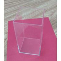 Best Retail Small Acrylic Tableware Transparent Shoe Boxes Without Lid For Storage wholesale