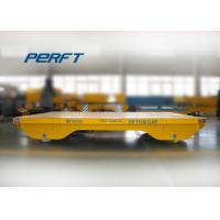 Best 20 ton cable drum powered steerable dies rail transfer carts wholesale