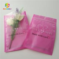 Best Clear Heart Window Plastic Packing Bags For Eyelash Hair Extension / Gift Jewelry wholesale