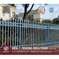 China Ornamental Steel Fence (Residential Fence Application) on sale