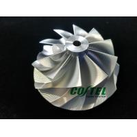 Best GEN2 GT3076 Reverse Billet Compressor Wheel 56.00/76.13mm 10 Blades Point Milling wholesale