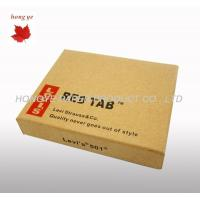 China Corrugated Cardboard Boxes , Custom Printed Garment Packing Boxes on sale