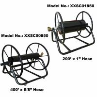 """Hose Reel, for Large Ground, 60M (200F) Length Capacity for 1"""" Hose"""