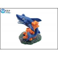 Best Blue Dolphin Aquarium Fish Tank Decorations With Polyresin Corals Ornaments wholesale