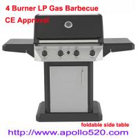 Best Gas Barbecue Grill with foldable side table wholesale