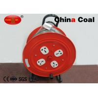 Red Industrial Tools And Hardware Triangular Bracket Cable Reel