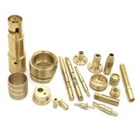 China Per Requirement 0.02mm Tolerance Brass CNC Machining Parts on sale