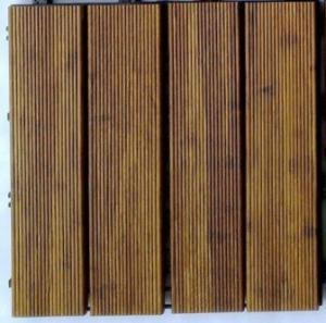 Best DIY Outdoor Bamboo Decking Tiles wholesale