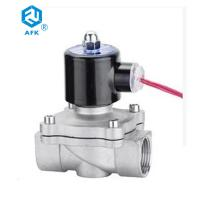 Best Stainless Steel Direct Acting Water Solenoid Valve DC 12v 2w-320-32B Diaphragm Structure wholesale