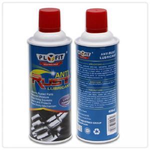 Best 65x158mm REACH Tinplate 400ml Anti Rust Lubricant Spray wholesale