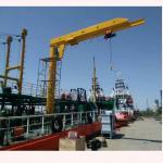 Best Anti-corrosion Type 0.5 Ton ~ 5 Ton Ship Deck Used Ship Jib Crane wholesale