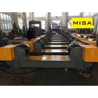 China 5T Pipe Automatic  Horizontal Conventional Rotator With PU Wheels For Welding on sale