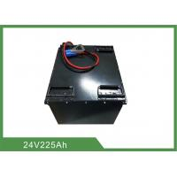 Best Customized Industrial Electric Forklift Battery 24V 225Ah Lifepo4 With Metal Casing wholesale