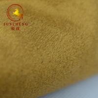 Best 200gsm heavy Soft hand feel double faced Weft knitted suede fabric wholesale