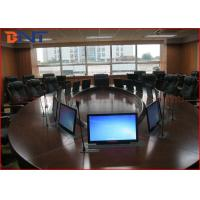 Buy cheap 73 Mm Super Thin Office Meeting Room LCD Computer Lift With 15.6 Inch Touch Screen product