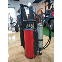 China Stainless Steel Fire Fighting Equipment 9L Backpack Water Mist Fire Extinguisher on sale