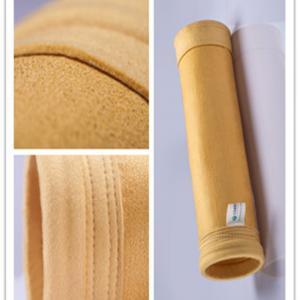 Best Polyimide Shaker Felt Dust Collection Bags Unique Tri - Lobal Fiber Structure wholesale