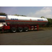 3x13T BPW Axle Stainless Steel Liquefied Gas Tanker Truck 10,435 US Gallon