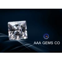 Best Forever Brilliant Square Moissanite Gemstone Colorless For Necklace wholesale
