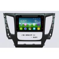 Best 8 Inch Mitsubishi Car DVD 1080P Hd And 3D Background RAM1G DDR3 , Android Car Head Unit wholesale