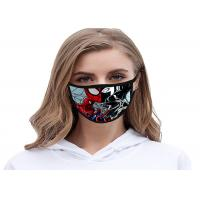 Best 3D European Print Pattern Cloth Washable Face Mask Resuable Unisex Funny wholesale