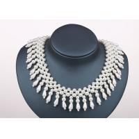 Best Handmade Designer Wedding Chunky Faux Pearl Collar Necklaces Jewellery wholesale