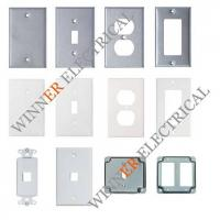 China Steel Wallplate Switch Plate Toggle Plate Wall Plate on sale